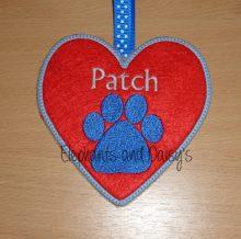 Paw Heart Design File