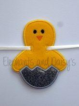 Chick Egg Banner Design file