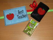 Best Teacher Tic Tac Design file