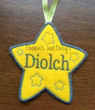 Diolch Star Design file