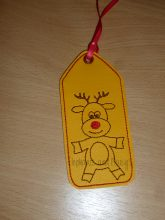 Rudolf Bookmark Design file