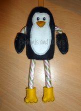 Candy Cane Penguin Design file