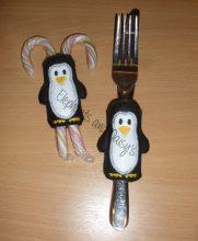 Penguin Cutlery Holder Design file