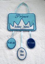 Prince Birth Hanger Design file