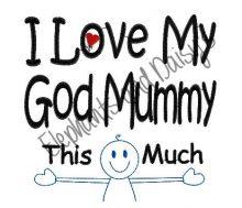 This Much God Mummy Design file