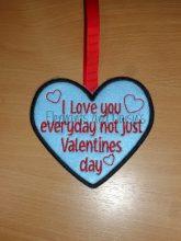 Not Just Valentines Design file
