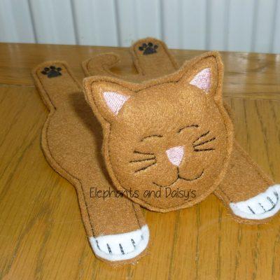 Sleepy Cat Coaster Design file
