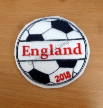 England 2018 Football badge Design file