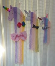 Sleepy Unicorn Bow Holder Design file