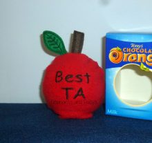 Best TA Apple Choc Orange Cosy Design file