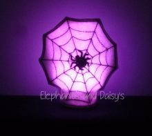 Spiders Web Tea Light Design file