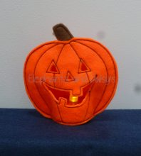 Pumpkin Tea light Design file