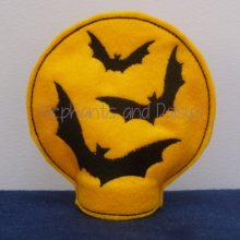 Bat Moon Tea light Design file