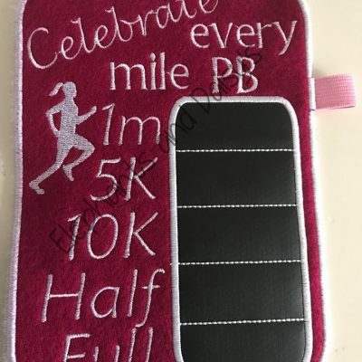 Running Girl Chalkboard Design file