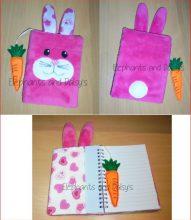Bunny A6 Notebook Cover Design file