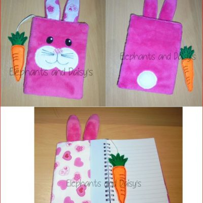Bunny A6 Notebook Cover Design file