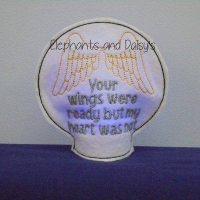 Wings Ready Tealight Design file