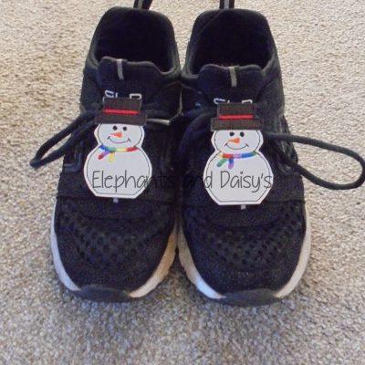 Snowman Shoe Charm Design file