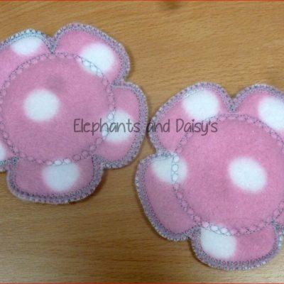 Flower Breast Pad Design file