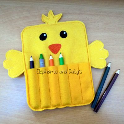 Chick Crayon Holder Design file
