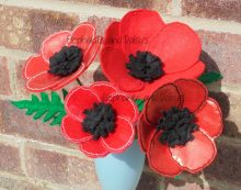 Poppy Flower Design file