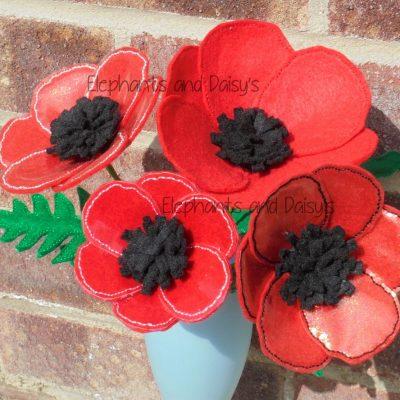 Poppy Flower Design file