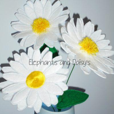 Daisy Flower Design file