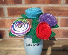Spiral Rose Design file