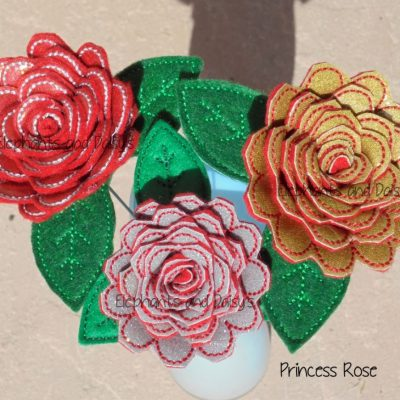 Princess Rose Design file