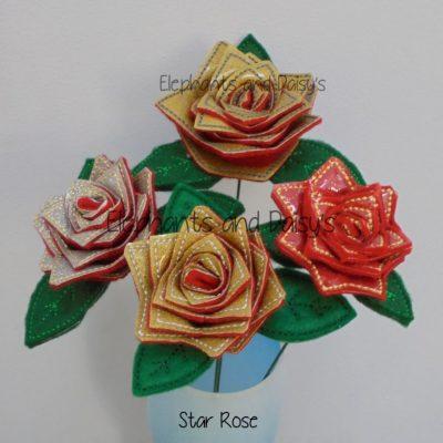 Star Rose Design file