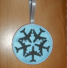 Airplane Star Design file