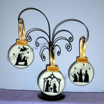 Nativity Bauble Set Design files