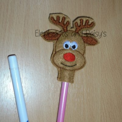 Rudolf Pencil Topper Design files