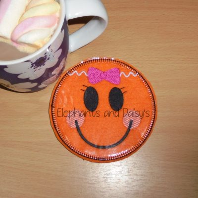 Gingerbread Girl Coaster Design file