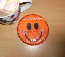 Gingerbread Man Coaster Design