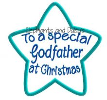 Godfather Christmas Star Design file
