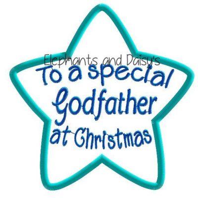 Godfather Christmas Star Design file