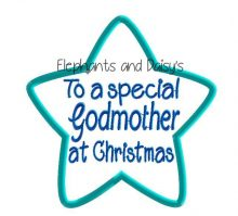 Godmother Christmas Star Design file