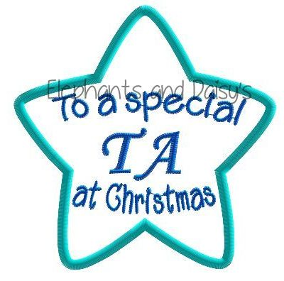 TA Christmas Star Design file