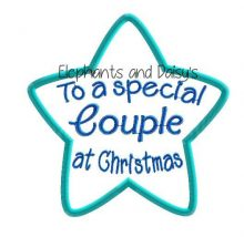 Couple Christmas Star Design file