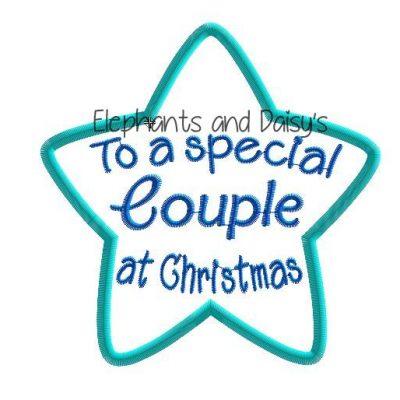Couple Christmas Star Design file