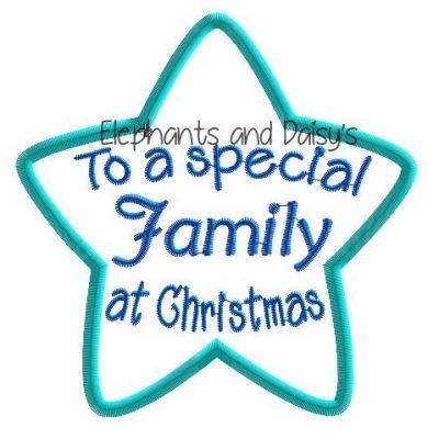Family Christmas Star Design file