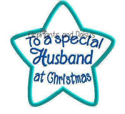 Husband Christmas Star Design file
