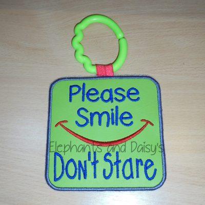 Smile Don't Stare Design file