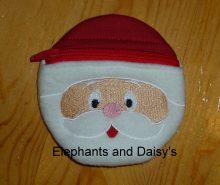 Santa ITH purse Design file