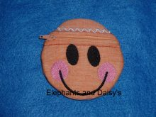 Gingerbread Man Purse Design file