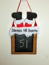 Sleeps till Santa Chimney design file