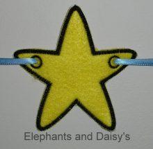 Single Star Banner design file