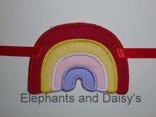 Rainbow Banner Design file