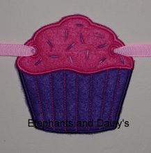 Cupcake Banner Design file